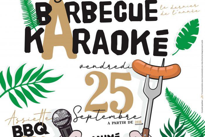 Soirée Barbecue Karaoké 25/09/20